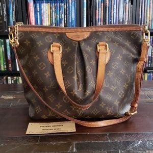 Authentic Louis Vuitton Palermo Pm
